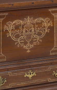 Sulphur Inlaid Blanket Chest
