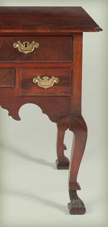 Pennsylvania Spanish Foot Dressing Table