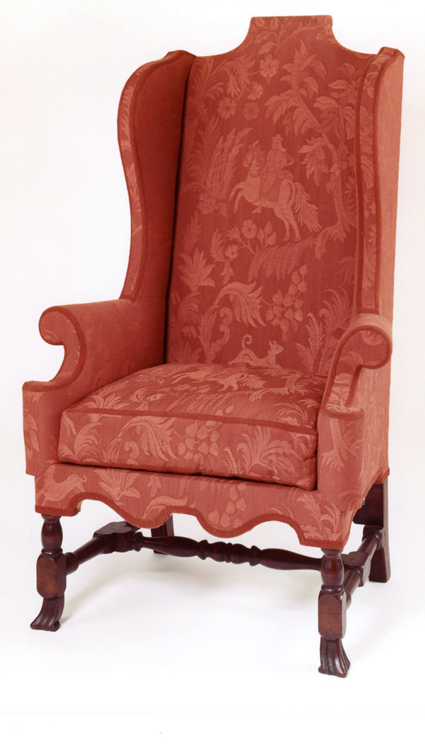 William and Mary Easy Chairs