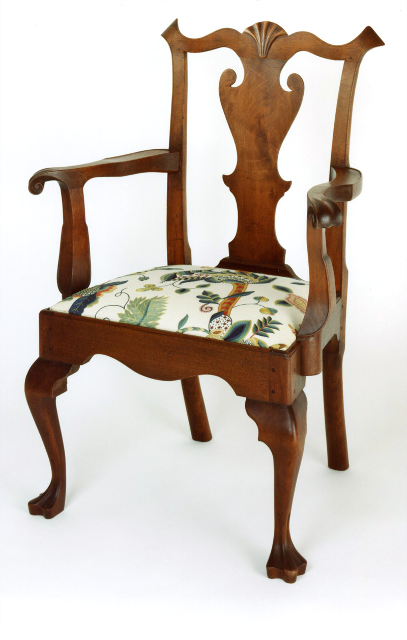 Chester County Queen Anne Arm Chair