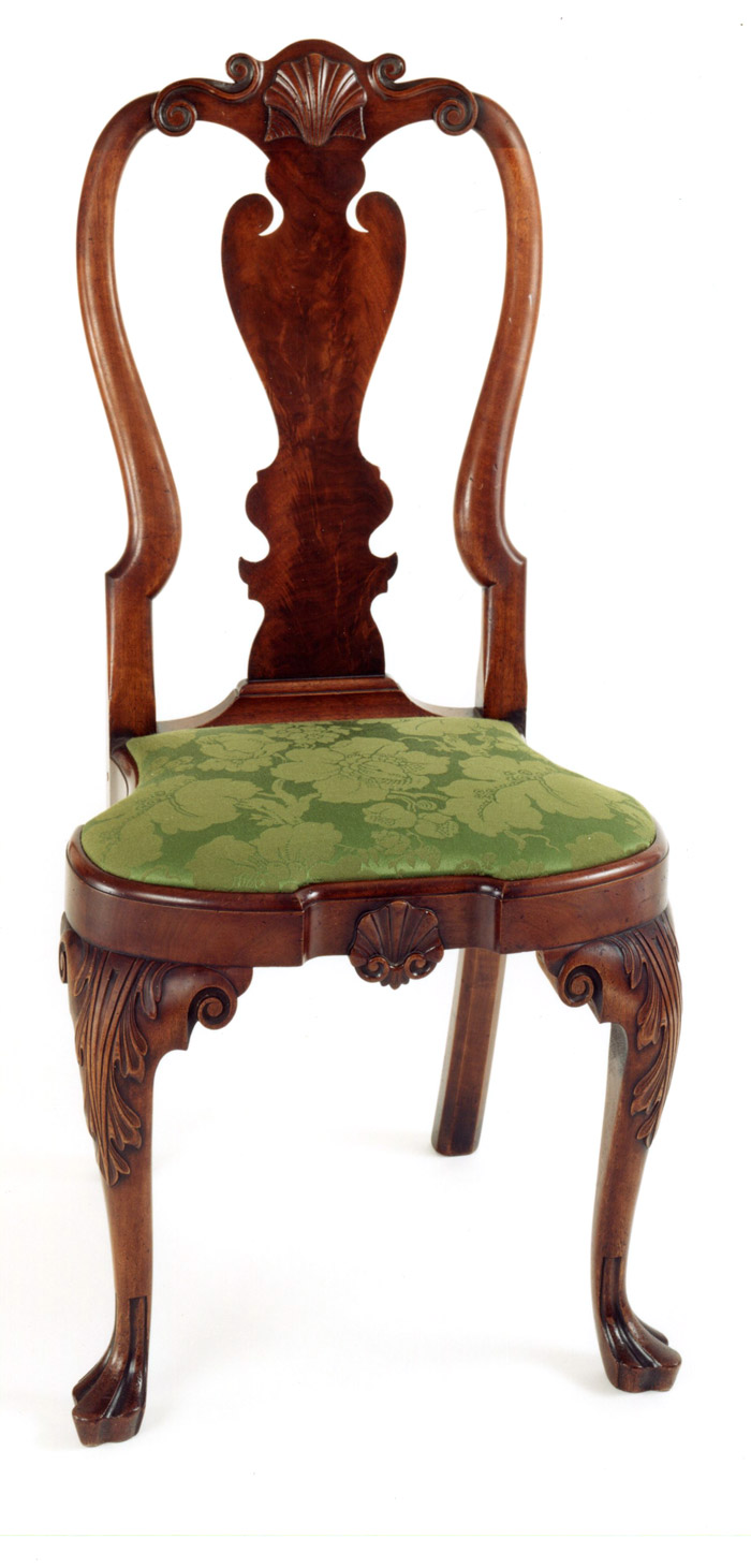 ... Furniture Makers : Seating : Coates Family Queen Anne Side Chair