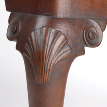 Morris Foot Stool Detail