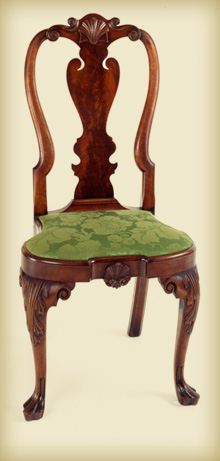 Coates Family Queen Anne Side Chair