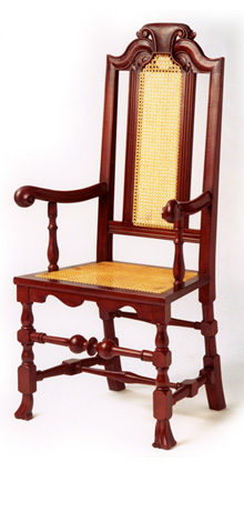 Boston Caned Arm Chair